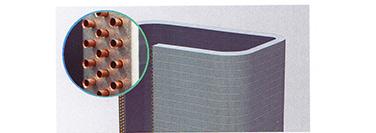多列小管径冷媒管设计